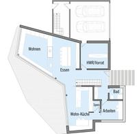 Baufritz - Haus Bullinger - Grundriss EG