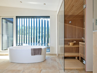 Baufritz - Haus Bullinger - Sauna