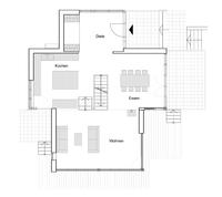 Baufritz Haus Eliasch - Grundriss Erdgeschoss