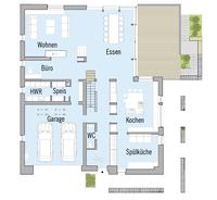 Baufritz Haus Kieffer - Grundriss Erdgeschoss