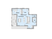 Baufritz - Haus Natur Design - Grundriss EG
