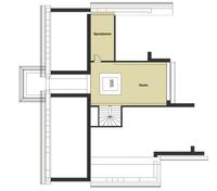 Baufritz Haus Patel - Grundriss Dachgeschoss