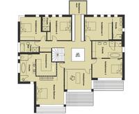 Baufritz Haus Patel - Grundriss Obergeschoss