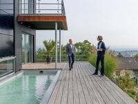 Baufritz - Haus Pawliczec - Terrasse