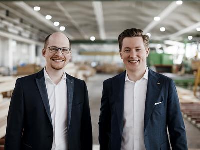 Benedikt Huf und Christian Huf – die neue Doppelspitze von HUF HAUS