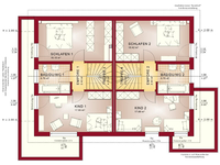 Bien-Zenker - CELEBRATION 192 V3 - Grundriss Dachgeschoss
