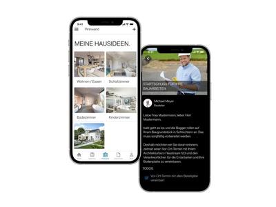 Bien-Zenker App für Bauherren