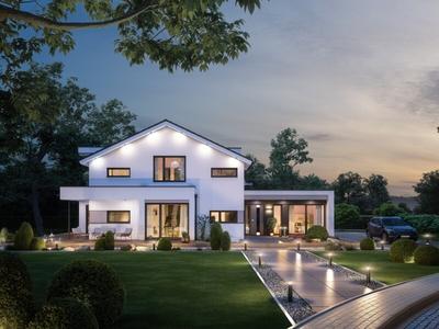 """Gewinner in der Kategorie """"Klassische Architektur"""" - """"Haus Concept-M 166 MH Erfurt"""" von Bien-Zenker"""