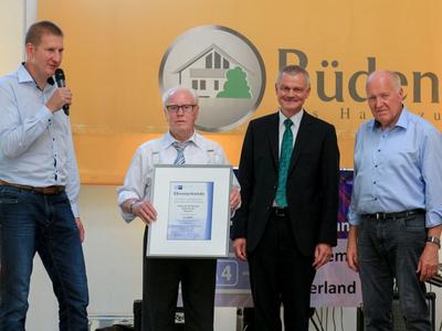 Jubiläumsfeier 70 Jahre Büdenbender Hausbau