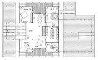 DAVINCI HAUS Kundenhaus Kleymann-Lopez - Grundriss Dachgeschoss