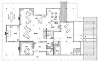 DAVINCI HAUS Kundenhaus Kleymann-Lopez - Grundriss Erdgeschoss
