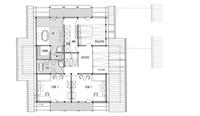 DAVINCI HAUS Kundenhaus Müller - Grundriss Dachgeschoss