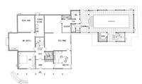 DAVINCI HAUS Kundenhaus Müller - Grundriss Erdgeschoss