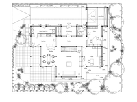 DAVINCI HAUS Musterhaus Bad Vilbel - Grundriss Erdgeschoss