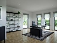 Schwabenhaus - Solitaire 165 E4 - Arbeitszimmer