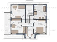 Schwabenhaus - Solitaire 165 E4 - Grundriss OG