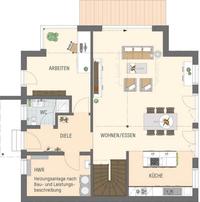 FingerHaus - Haus MEDLEY 3.0 - Musterhaus Kassel - Grundriss Erdgeschoss