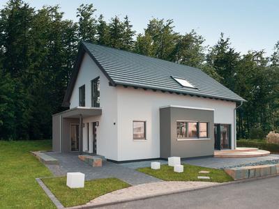 FingerHaus - NEO 312 Musterhaus Bad Vilbel - Aussenansicht