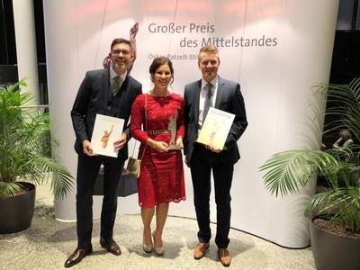 FischerHaus -  Großer Preis des Mittelstandes 2018