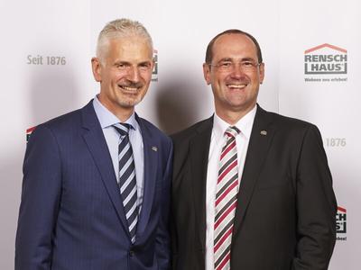 Geschäftsführer Martin Rensch und Dirk Wolschke