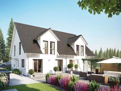 Hanse Haus - Doppelhaus 45-123