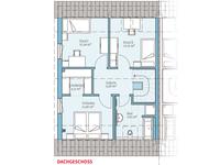 Hanse Haus - Doppelhaus 45-123 - Grundriss Erdgeschoss