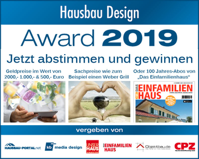 Hausbau Design Award 2019