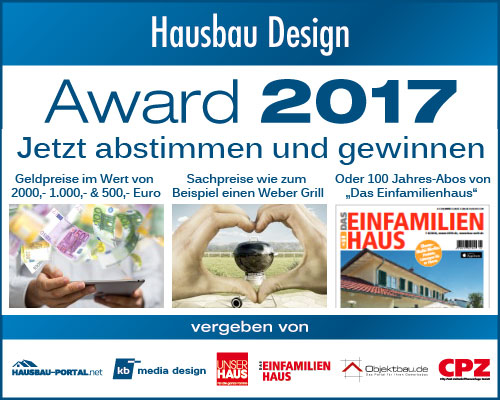 Hausbau Design Award 2017