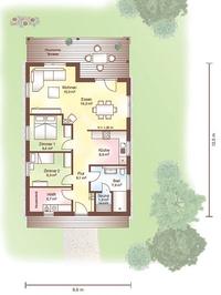 Haus Tunö - Grundriss