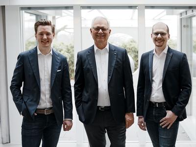 Christian Huf, Georg Huf, Benedikt Huf