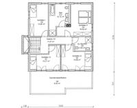 ISARTALER HOLZHAUS - Haus Eschensee - Grundriss DG