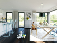Living Haus - SOLUTION 230 V4 - Wohnküche