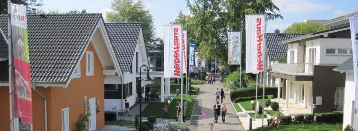 Hausausstellung in Fellbach bei Stuttgart