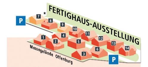 Parkübersicht Musterhauspark Offenburg