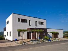 Häuser im Bauhausstil