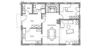Regnauer - Bayerisch Gmain - Grundriss Erdgeschoss