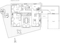 Regnauer Hausbau - Haus Glonn - Grundriss Erdgeschoss.