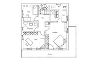 Regnauer Hausbau - Haus Kirchberg - Grundriss Dachgeschoss