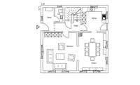 Regnauer Hausbau - Haus Kirchberg - Grundriss Erdgeschoss