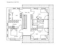 Regnauer Hausbau - Musterhaus Liesl - Grundriss Obergeschoss