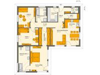 Living Haus - SOLUTION 100 V3 - Grundriss Erdgeschoss