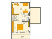 Living Haus - SOLUTION 126 L V4 - Grundriss Dachgeschoss