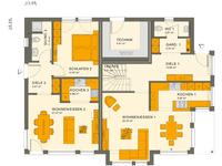 Living Haus - SOLUTION 230 V4 - Grundriss Erdgeschoss