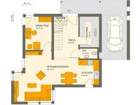 Living Haus - SUNSHINE 113 V7 - Grundriss Erdgeschoss