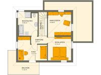 Living Haus - SUNSHINE 113 V7 - Grundriss Obergeschoss
