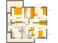 Living Haus - SUNSHINE 165 Ulm - Grundriss Dachgeschoss
