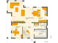 Living Haus - SUNSHINE 165 Ulm - Grundriss Erdgeschoss
