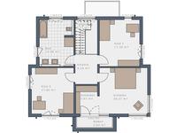 Schwabenhaus - Selection 175 E5 - Grundriss OG