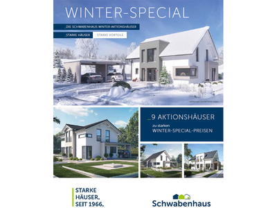 Schwabenhaus Winter Aktion 2018