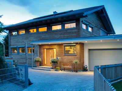 Sonnleitner Holzbauwerke - Kundenhaus Augsburg